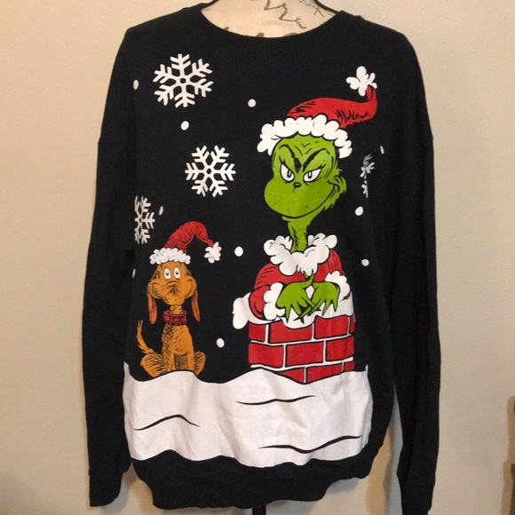 Grinch Christmas Sweater.The Grinch Christmas Sweater